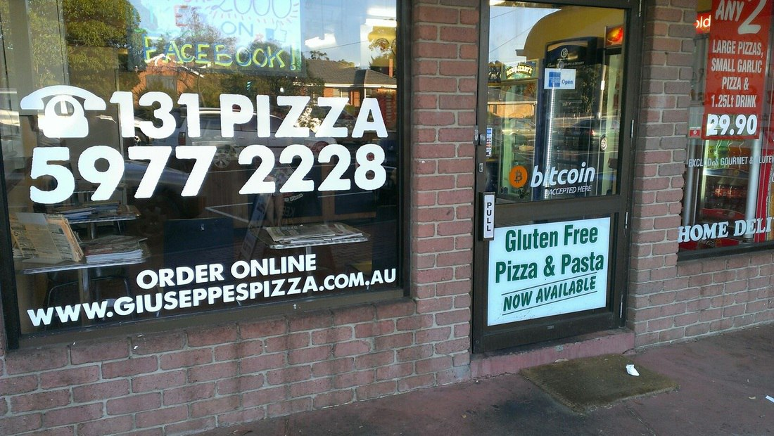 pizza shop signs